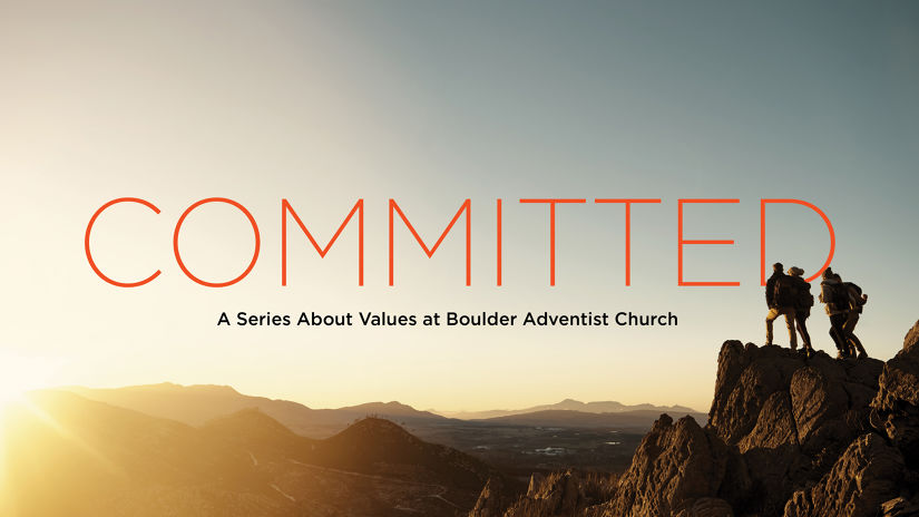 Committed to . . .