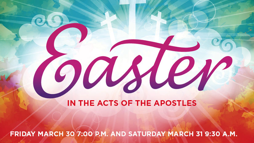 Easter in Acts