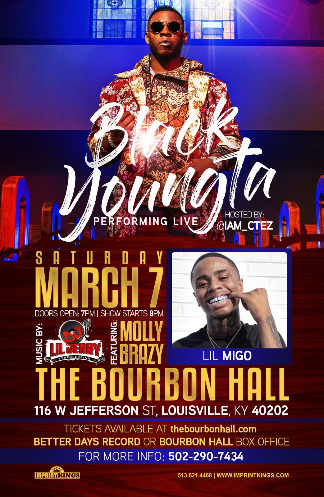 Black Youngsta Performing Live