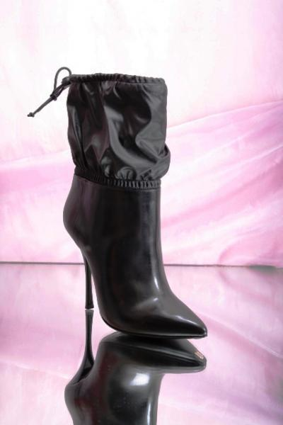 Black Heel Ankle Boots