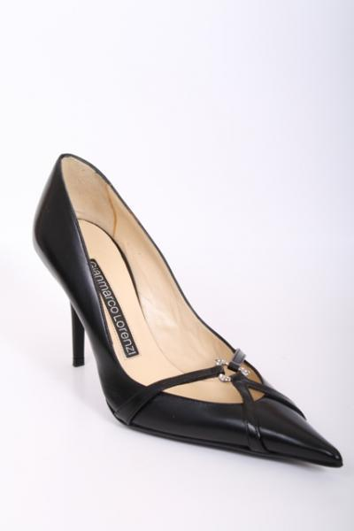 Stiletto Leather Pump