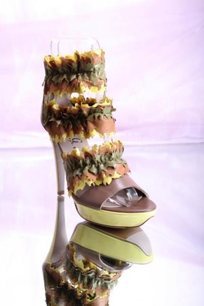 Multi-Colors Platform Fun Sandals