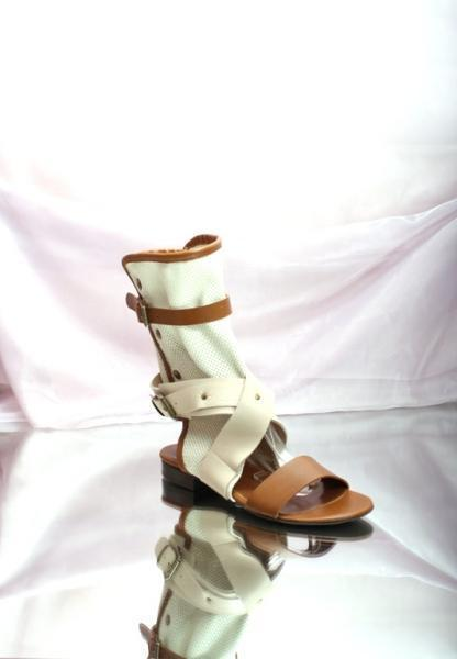 Strappy Summer Boots