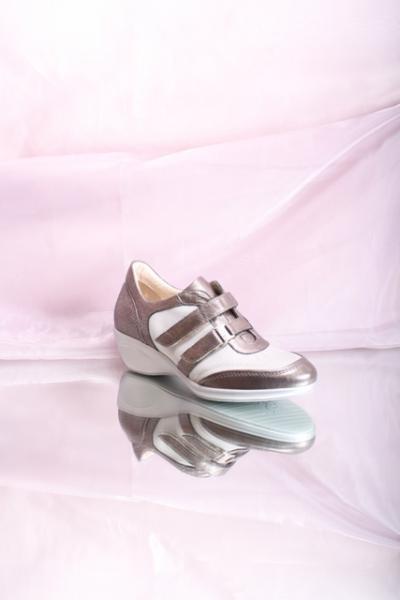 Gray Stripes Sneaker Shoes