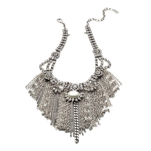 Imogen Necklace Ox Silver