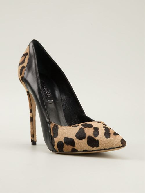 Sweet Nero with Leopard Pump