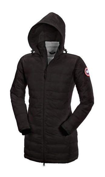 Canada Goose W Camp Hooded Jacket Black