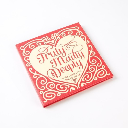 Truly Madly Deeply Couple's Memory Journal