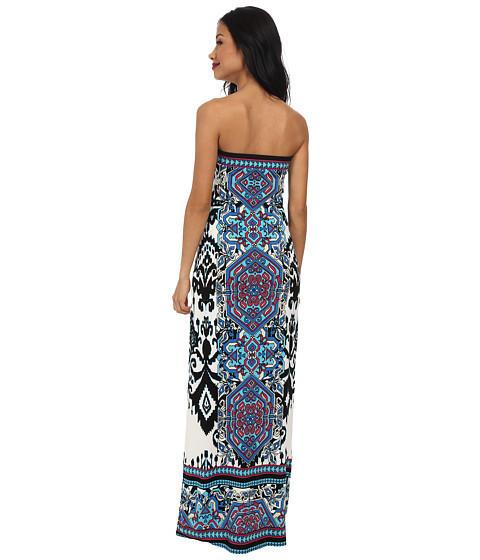 3d7d6913bd Ikat Haze Tube Top Maxi Dress By Hale Bob