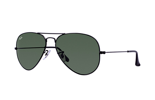 Ray-Ban Aviator Black G-15XLT