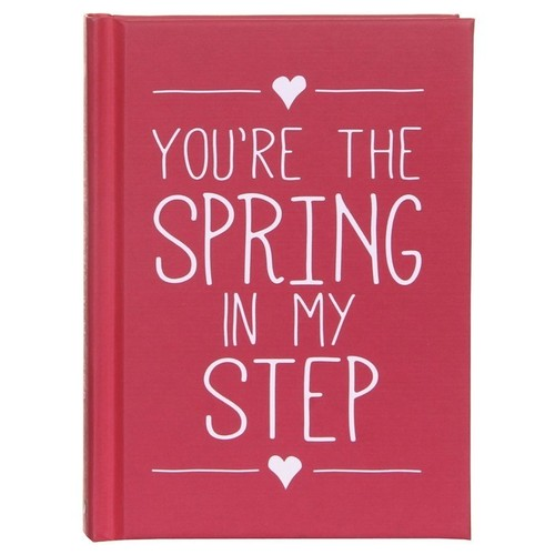 You're The Spring In My Step Book
