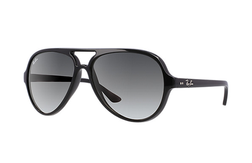 Ray-Ban Cats 5000 Black Grey Gradient