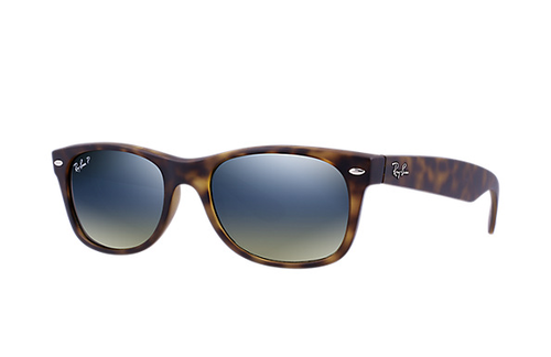 Ray-Ban Polarized New Wayfarer Matte Havana