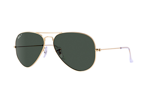 Ray-Ban Aviator Gold Polarized