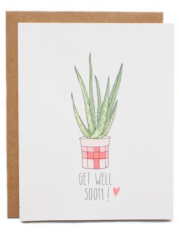 Get Well soon Aloe
