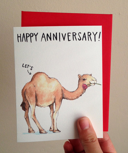 Happy Anniversary Let's Hump