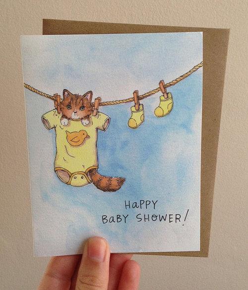 Baby Shower Kitten