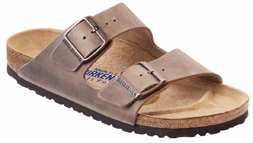 Birkenstock Arizona Soft Footbed Tobacco Oiled Leather