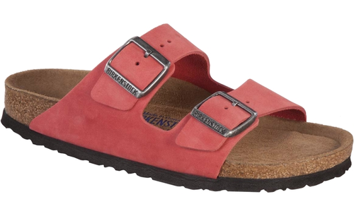 birkenstock arizona soft footbed tea rose nubuck by. Black Bedroom Furniture Sets. Home Design Ideas