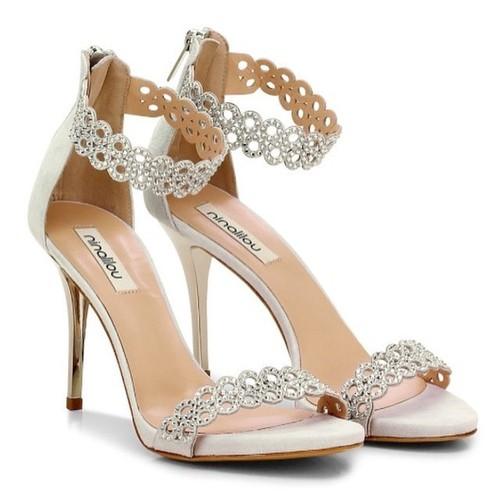 Fanny Swarovski Crystal Heel
