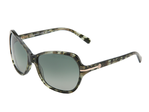 4691591025 Tory Burch Ty7054 Green Tortoise Green Gradient Polarized Lens By Tory  Burch