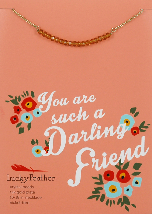 Cherish Friend Necklace