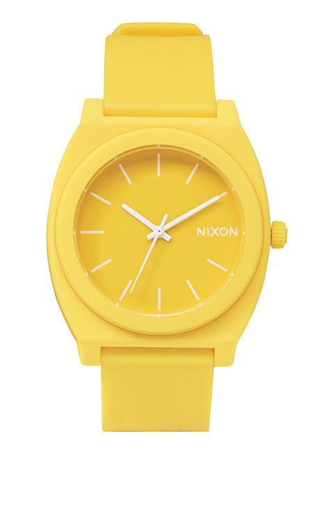 Nixon Time Teller P Matte Yellow By J Michael Shoes Syracuse