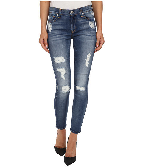 Ankle Skinny Distressed Authen