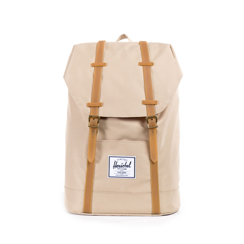 Herschel Retreat Khaki / Gum Rubber