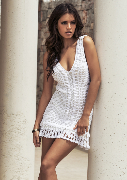 Aexis Crochet Dress