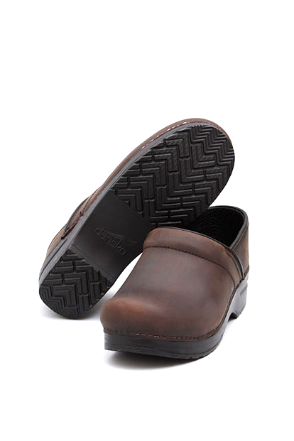 Dansko Professional Antique Brown / Black
