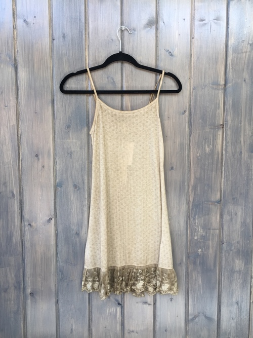 Savannah Slip Dress Khaki