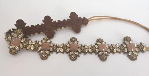 Cabrina Luxe Headband Gold