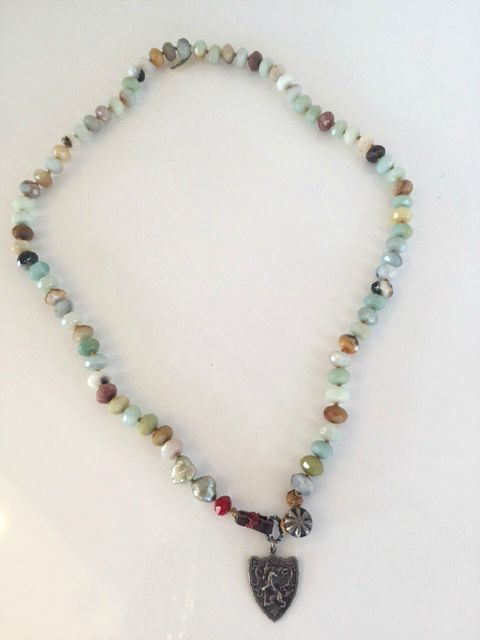 "Claremont Multi Stone 24"" Necklace"