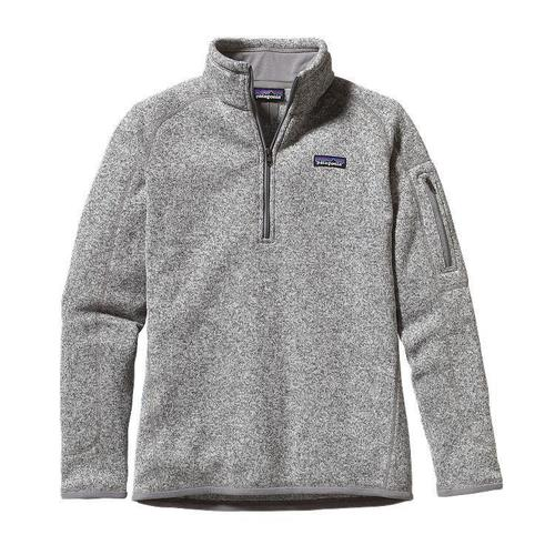 Patagonia W Better Sweater Quarter Zip Birch White