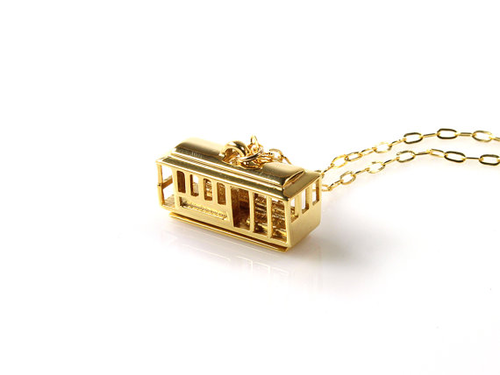 Cable Car Necklace