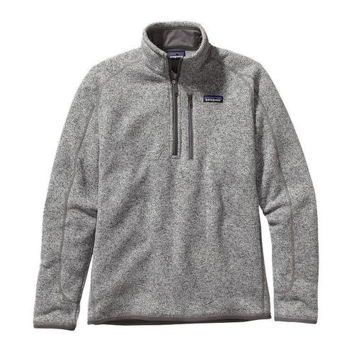 Patagonia M Better Sweater Quarter Zip Stonewash