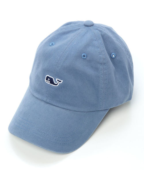 Vineyard Vines Whale Logo BB Hat Slate