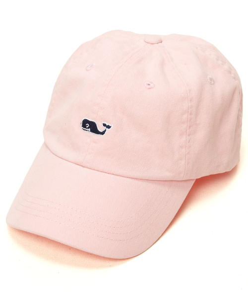 Vineyard Vines Whale Logo BB Hat Flamingo