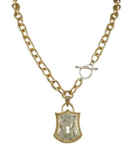 Ionian Lock Necklace