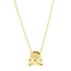 Skull Necklace (Sterling or Gold)