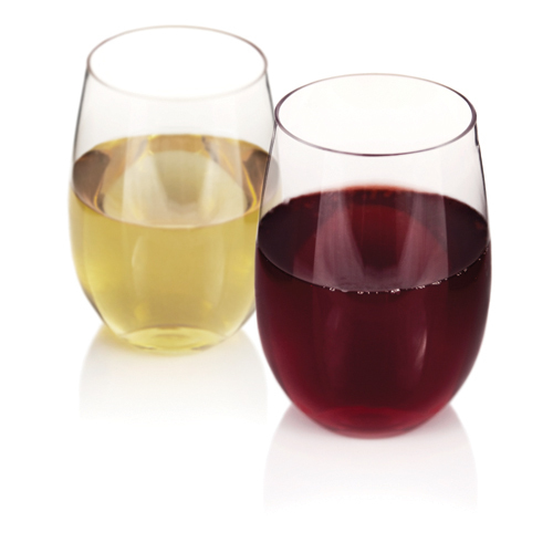 Flexi Stemless Wine Glass set