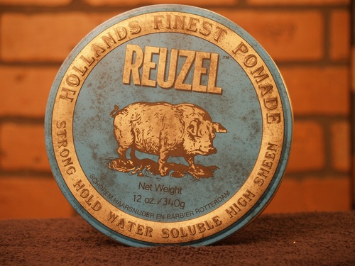Reuzel Blue Strong Hold Water Soluble  12 oz