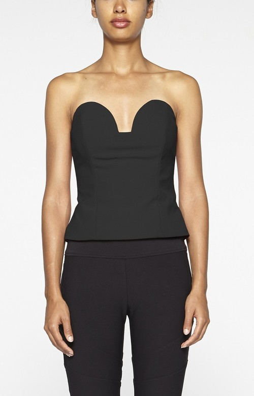 Strapless Pointed Bustier