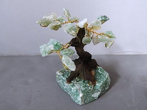 Green Quartz Bonsai Tree