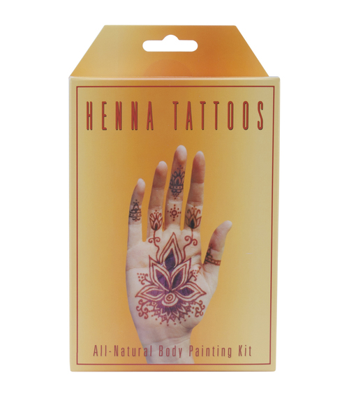 Earth Henna Tattoo Kit