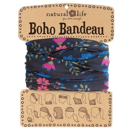 Black & Green Boho Bandeau