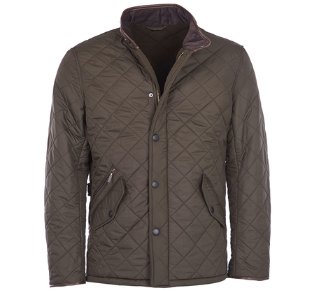 Barbour M Powell Quilt Olive