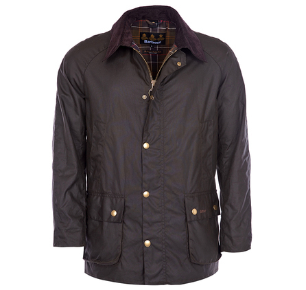 Barbour M Ashby Wax Jacket Olive