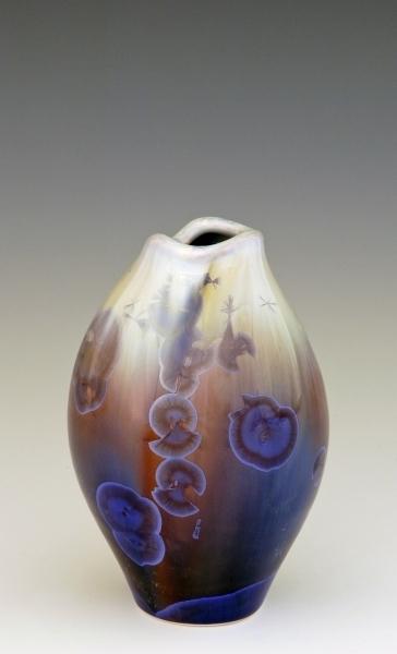 Stellar Small Mouth Fish Vase